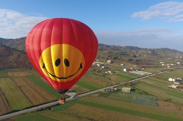 hot air balloon Albania